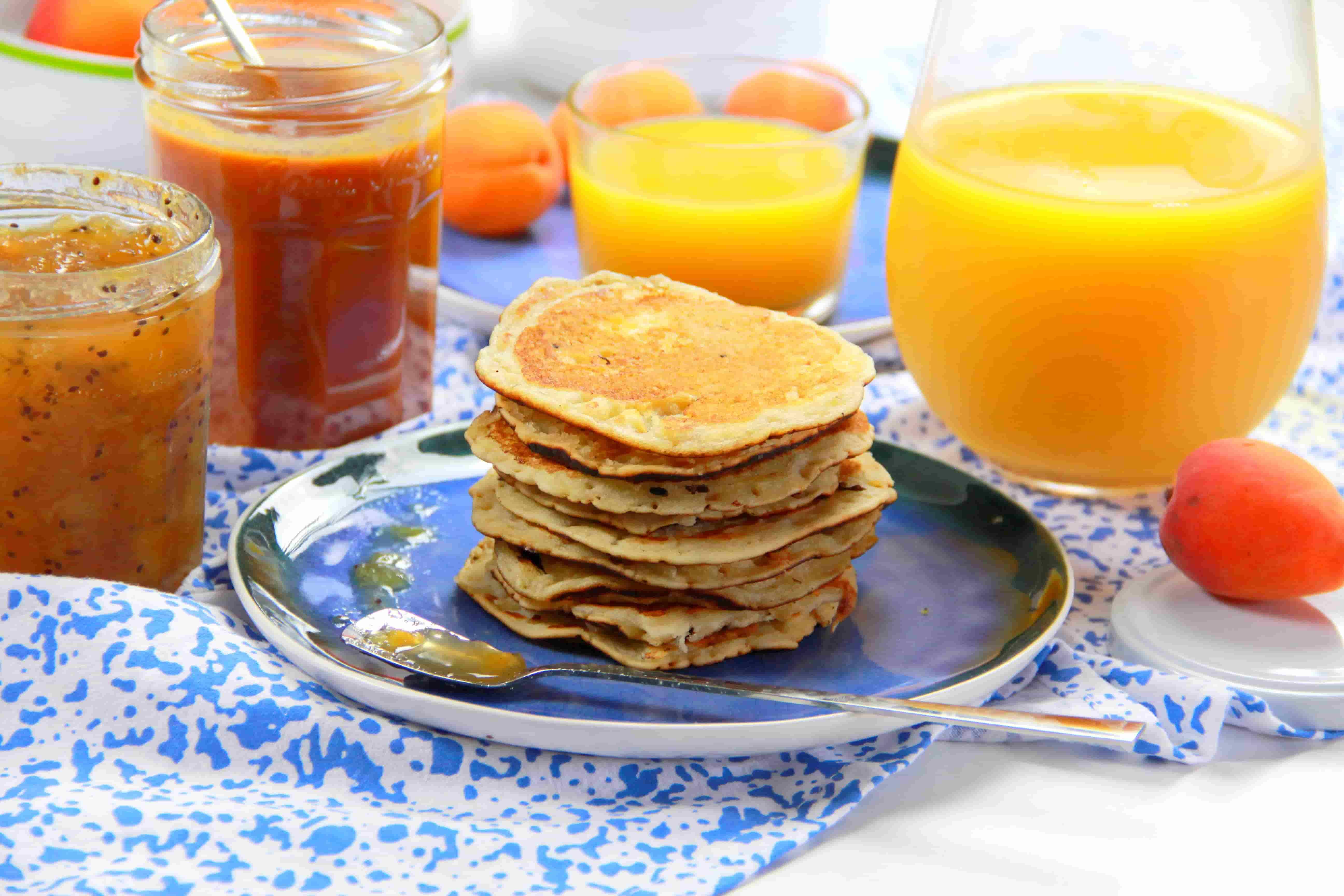 Pancakes sans œuf